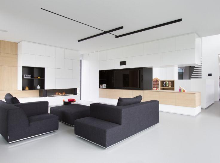 25 beste idee n over hedendaagse woonkamers op pinterest