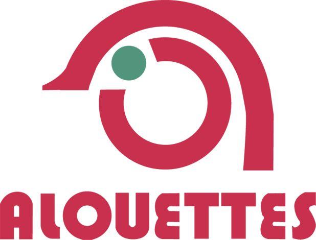 Logo Alouettes années 70-équipe de football américain