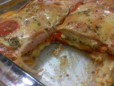 Receita de Bauru de forno com pão de forma - Tudo Gostoso
