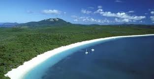 Whitehaven Beach, Whitsunday Islands.  The most fav place I visited with Mindy when she came to visit me.  We took a sail boat 4 day trip.  The night we anchored here, we woke up to turtles coming up for air.  Amazing.