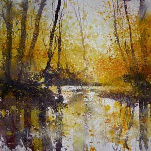 Pete Gilbert print 'Beaulieu River Sunrise'