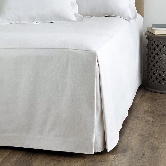 Tailored Floor Length Bedding Ballard Designs Bed Linens