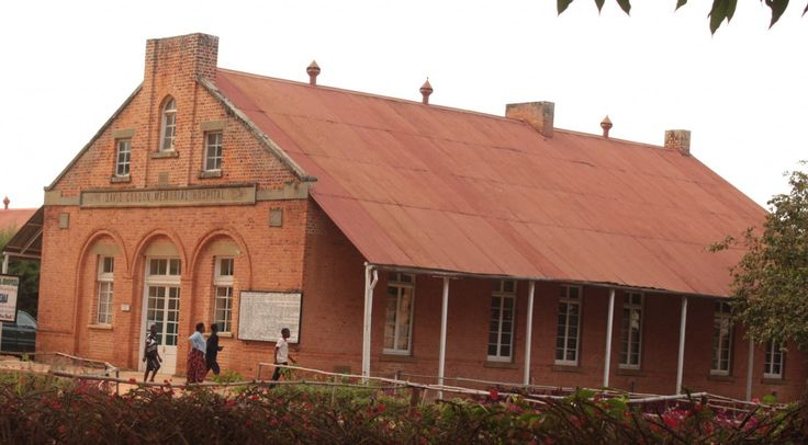 The colonial-era hospital in Livingstonia, Malawi, is still in use. (photo courtesy of Albert Smith)