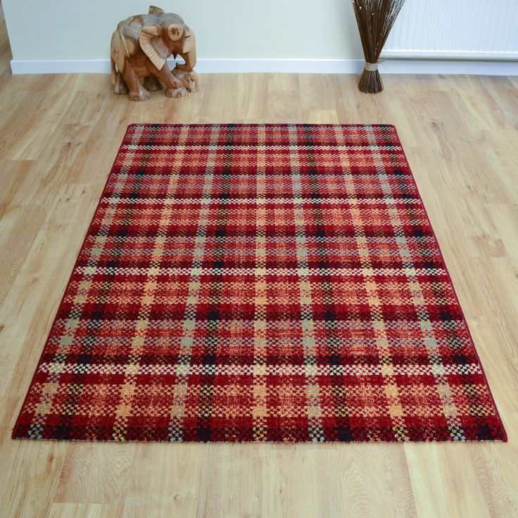 Woodstock Rugs 32003 8312 in Red