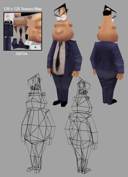 LOWPOLY (sub 1000~ triangle models) - Page 2 - Polycount Forum