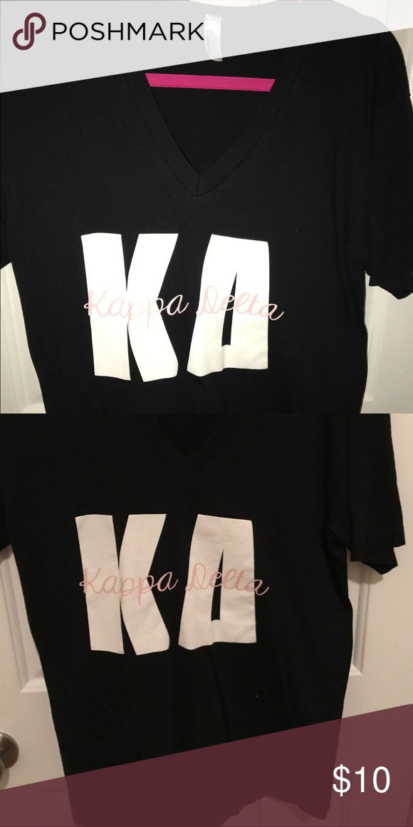 Kappa Delta Tshirt American Apparel size medium, runs a bit big.  Worn once! American Apparel Tops Tees - Short Sleeve
