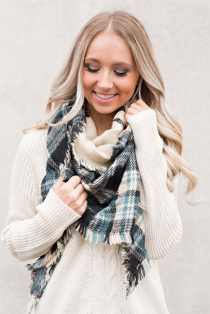Black Scarf Fashion