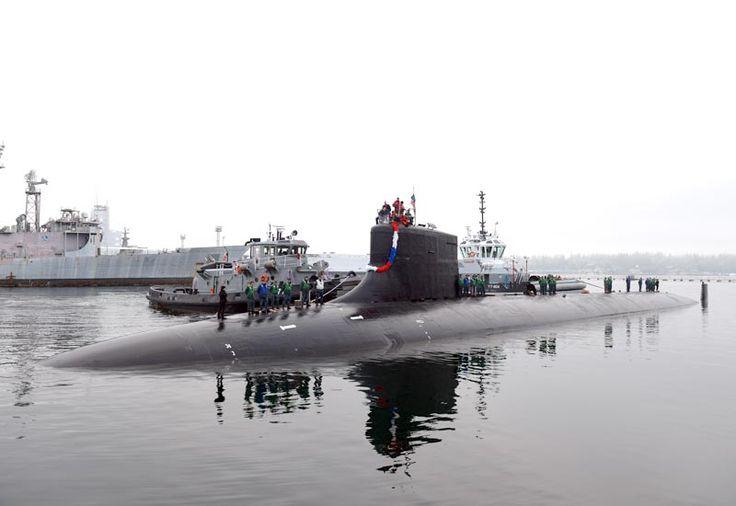 Imagen del USS Seawolf (SSN-21) El USS Seawolf fue el primero de su clase, una clase que en un principio era de campo de unos 29 barcos, pero terminó con sólo tres producidas.