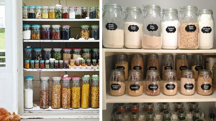 Conseil n°16 : tout ranger dans des bocaux en verre