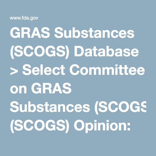 GRAS Substances (SCOGS) Database > Select Committee on GRAS Substances (SCOGS) Opinion: Ox bile extract, cholic acid, desoxycholic acid, glycocholic acid, and taurocholic acid