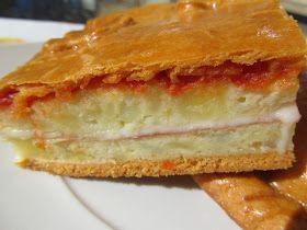 Empanada de tortilla rellena