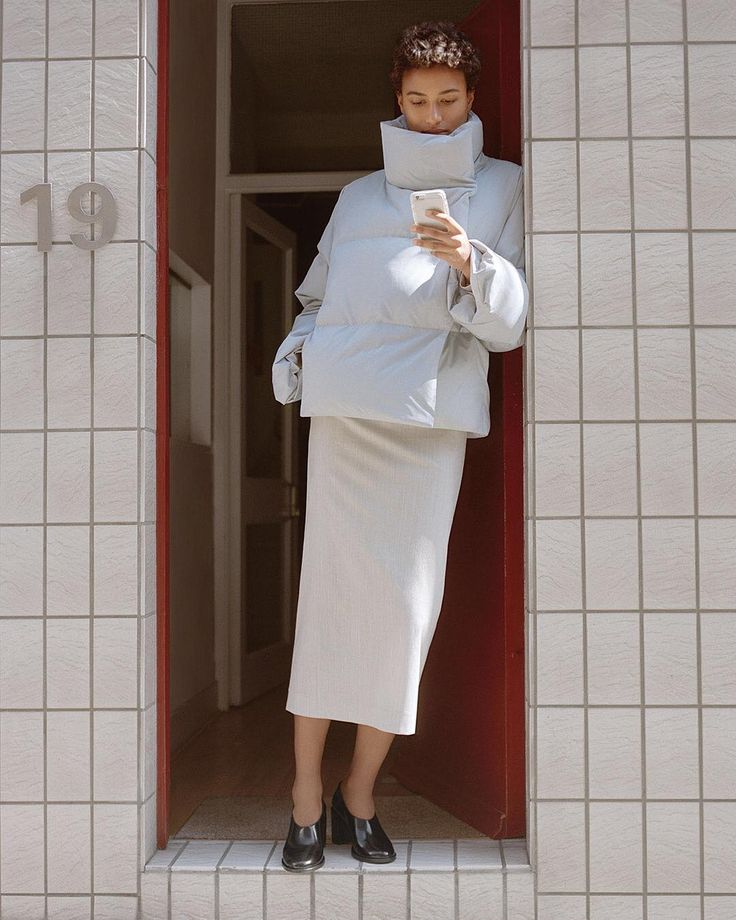 Garments with architectural silhouettes always make for a confident entrance – or exit. Discover more via link in bio #COSmagazine