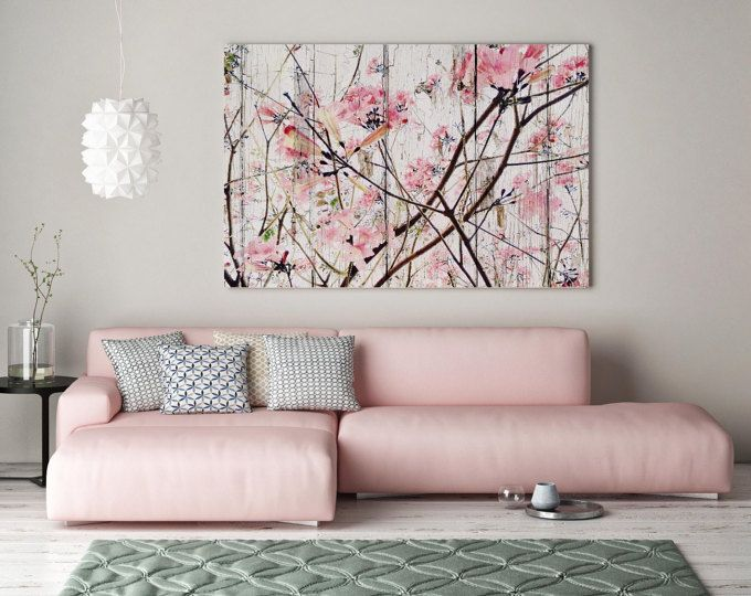 Shabby Chic Floral Canvas Wall Art Peony Canvas Wall Art Etsy Pink Abstract Art Etsy Wall Art Floral Wall Art Canvases