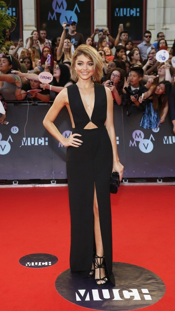 Sarah Hyland (Photo: MUCH) // See the Pics From the 2015 MMVAs Red Carpet - Flare