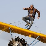 TRAIN AS A WING WALKER AT WICKENBY'S 70TH BIRTHDAY AIRSHOW