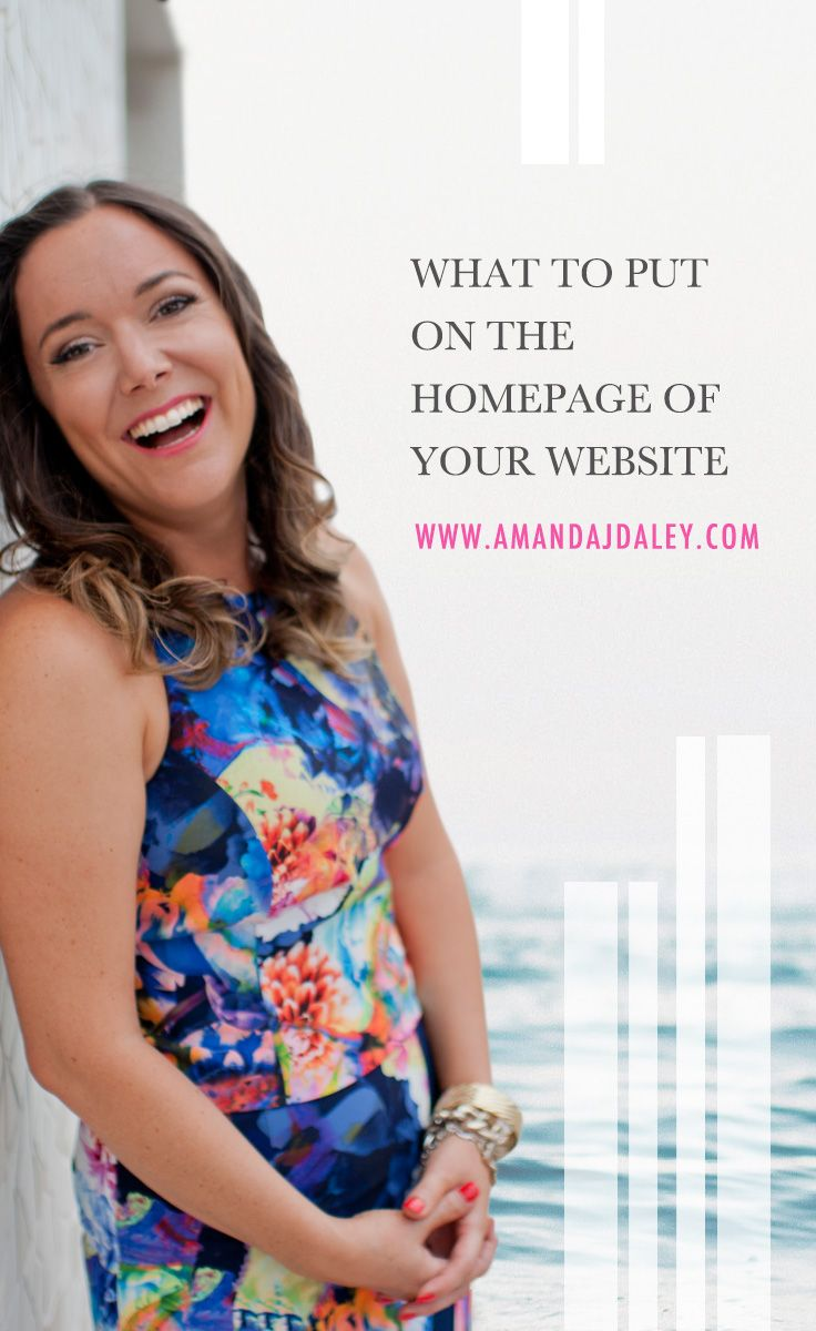 Amanda Jane Daley here, Business Mentor for Health Coaches and Wellness Entrepreneurs, and today we're going to talk about what to put on the homepage of your website to attract your ideal clients.