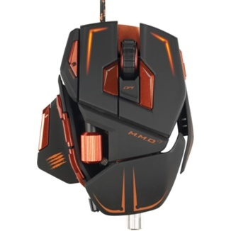 Mad Catz Gaming M.M.O.7 Cyborg MMO Mouse - Apple Store (UK)