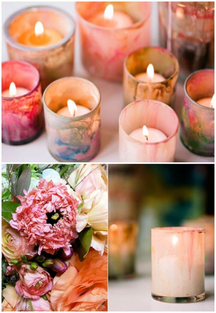 Painted Candle Holder 50 Diy Candle Holder Ideas How To Make Candle Holders Diy Painted Candle Holders Diy Candle Holders Glass Rustic Candle Holders Diy