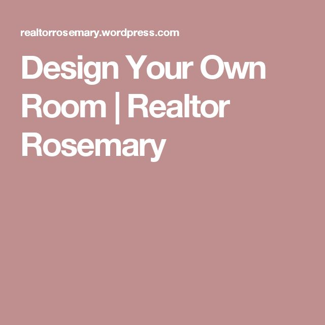 1000 Ideas About Design Your Own Room On Pinterest