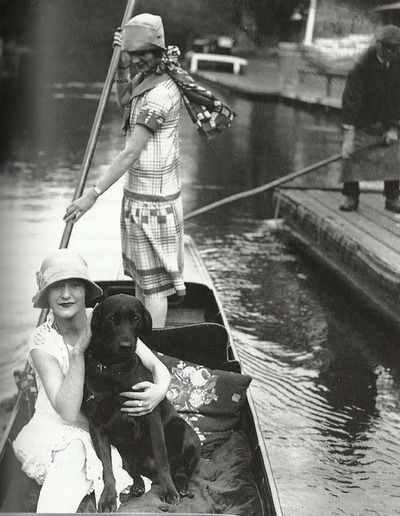 Row row row your…. Boat! 1920's style.