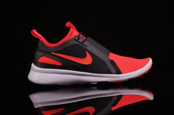 2bebf30741294 Available Now  Nike Air Current Slip On Bright Crimson