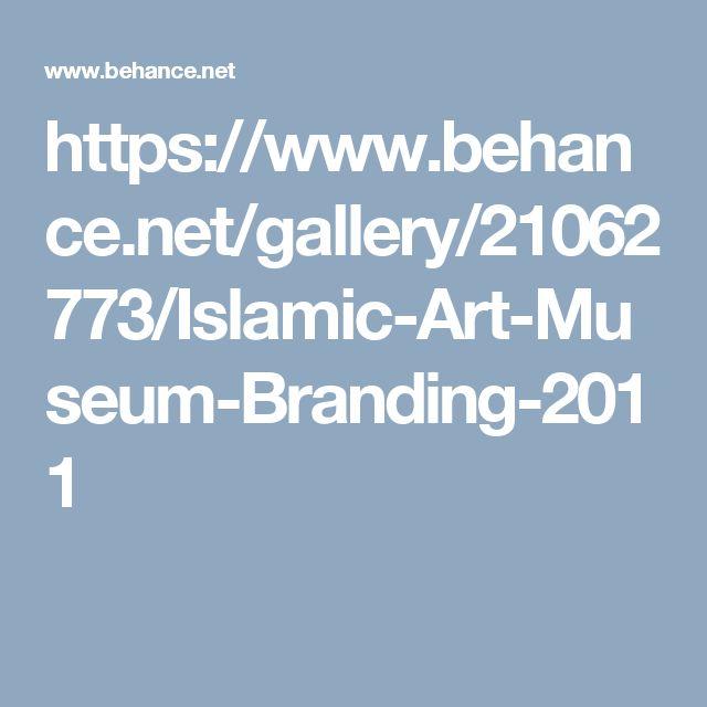 https://www.behance.net/gallery/21062773/Islamic-Art-Museum-Branding-2011