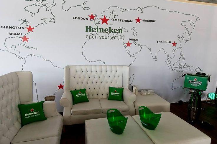 New Heineken Deck at Shimmy Beach Club, Cape Town's premier club and venue
