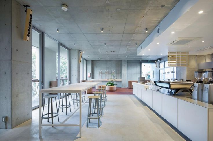 Blue Bottle Coffee AOYAMA Cafe / Schemata Architects