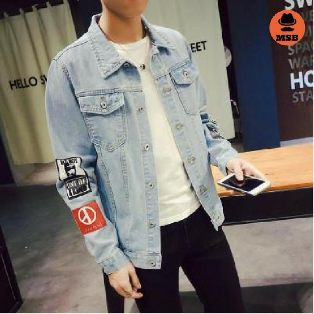 New Fashion Denim Men's Jeans Jacket  BUY NOW ONLY FOR $52.00  Special discount for ALL is 12% with code: MSB12 !♛ ♛! Free worldwide shipping!  #mensfashion #mensfashions #Mens #Fashion #FashionBlog #Dapper #jeans#Guys #Boys #s http://www.99wtf.net/men/mens-fasion/smart-casual-men/