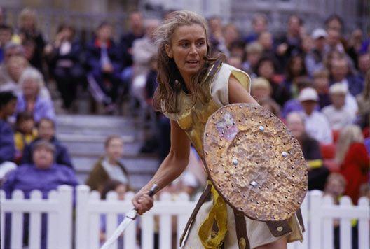 Roman Gladiator Games at Musuem of London