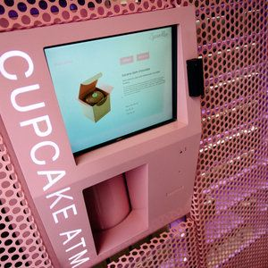 Sprinkles Cupcakes ATM >> 3545 Las Vegas Blvd S Spc L-23; Las Vegas, NV 89109  Need a sugar boost before hitting the Strip? Sprinkles's LINQ outpost of the famed bakery saves the day (or night) with a walk-up, on-the-go dessert in the form of their cupcake ATM. Stocked with the shop's flavor of the day, a cupcake from this easily accessed dessert dispenser will set you back a mere $4.
