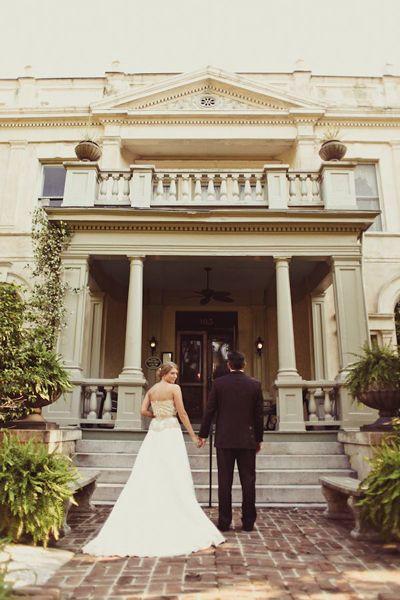 Real Weddings Devon Rob S Enchanting Savannah Wedding