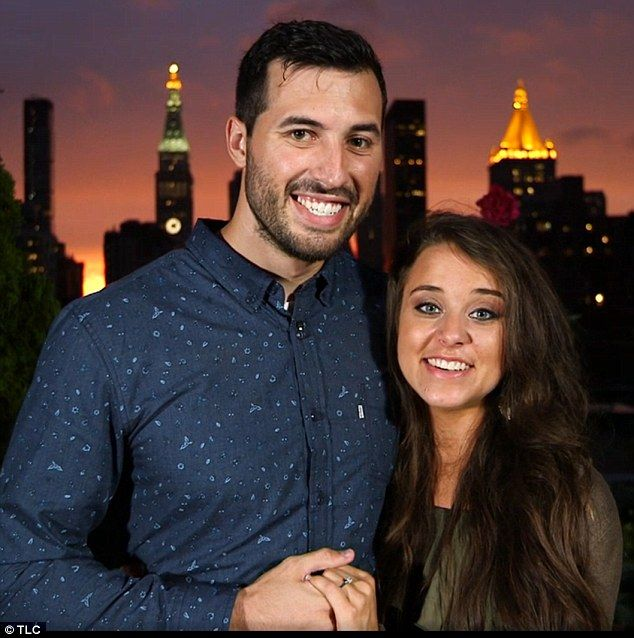Wedding bells: Jinger Duggar is engaged to Jeremy Vuolo after a seven month courtship (cou...