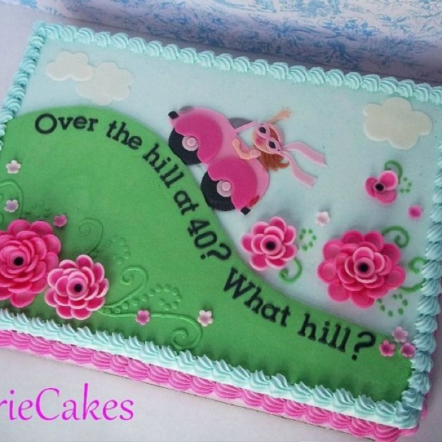 Cake Designs For Over The Hill : Over the hill Cakes: For Ladies Pinterest Birthdays ...