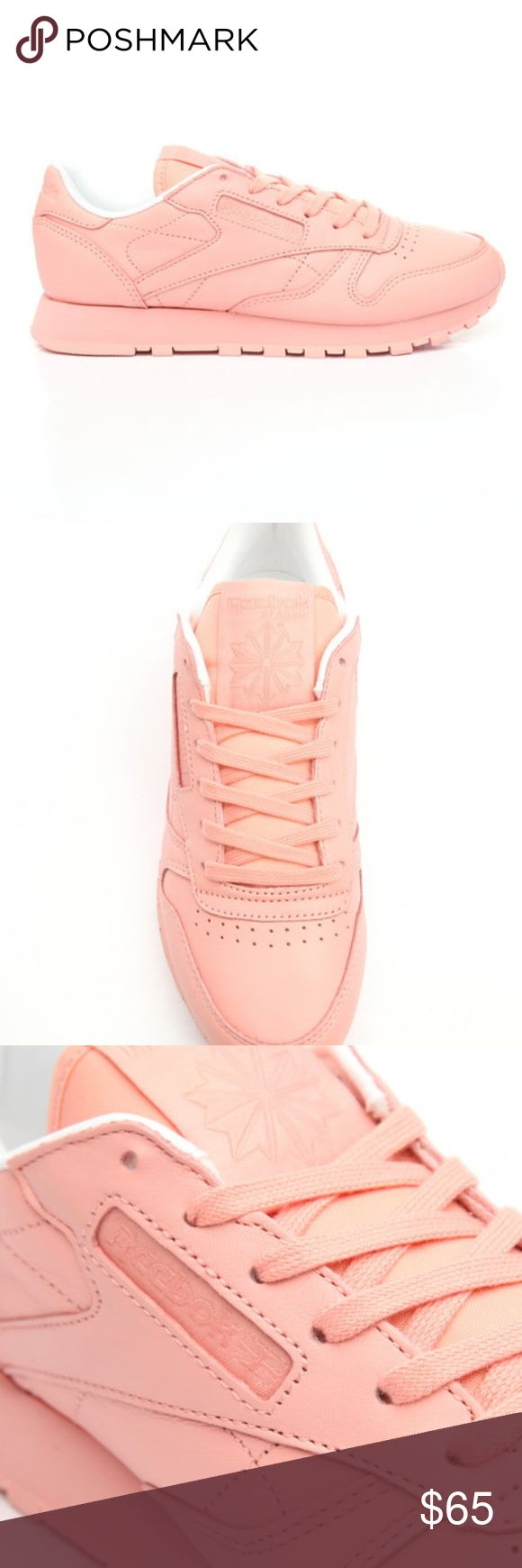 """New Reebok Classics Pastel Pink Sneakers New   Reebok Classics """"Pink' Pastel sneakers in limited women's sizes. Reebok Shoes Sneakers"""