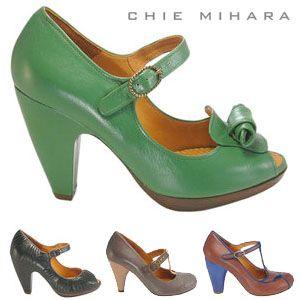 Want them all!Feet Fashion, Chie Mihara, Mihara Style, Blue, Clothing, 1940S Inspiration, Beautiful, Closets Sho, Mihara Shoes