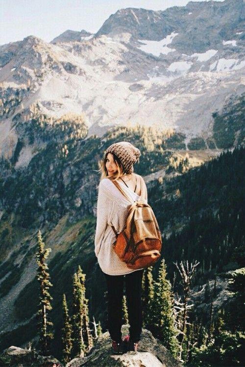 Imagen de girl, mountains, and travel