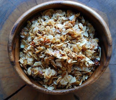 Almond, Cinnamon, Coconut Granola | Mehan's Kitchen