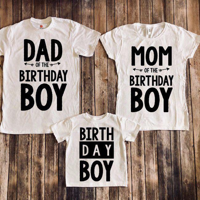 5d89acad Birthday boy shirt, matching parents shirts, matching family shirts, birthday  boy shirt,
