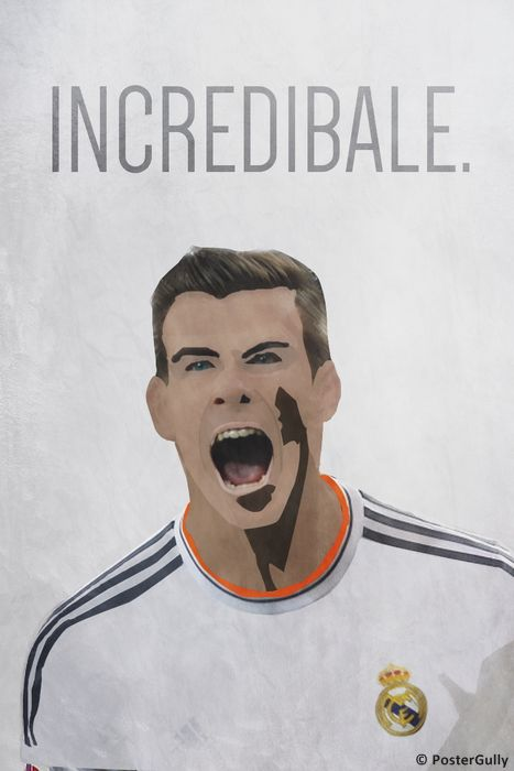 Buy Posters & Art Prints Merchandise Online Shopping India   Shop Posters, Art Prints, IPhone Cases   Incredible Gareth Bale - Real Madrid   PosterGully