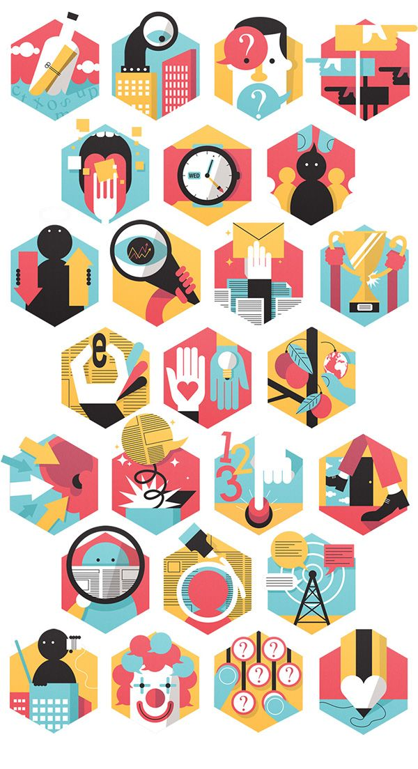 Appelberg icons on Behance
