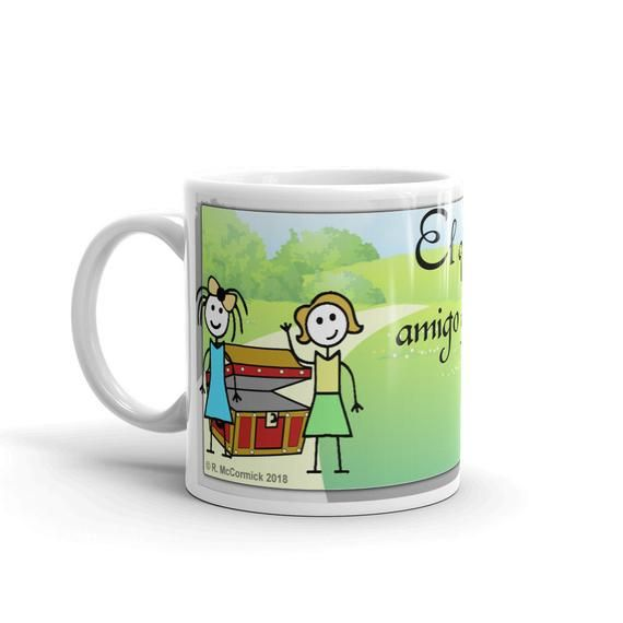 Amigos Son Tesoro Etsy In 2020 Mugs Personalized Mugs Friends Are Like