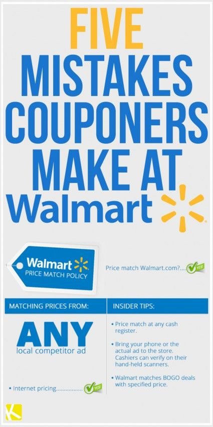 5 Mistakes Couponers Make at Walmart