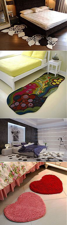 (+1) тема - Тепло и гармония в спальни: прикроватные коврики | Интерьер и Дизайн