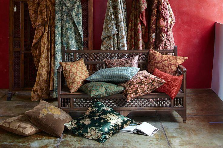 Pottery Barn Taps Indian Fashion Designer Sabyasachi for Global Home Collection — Design News