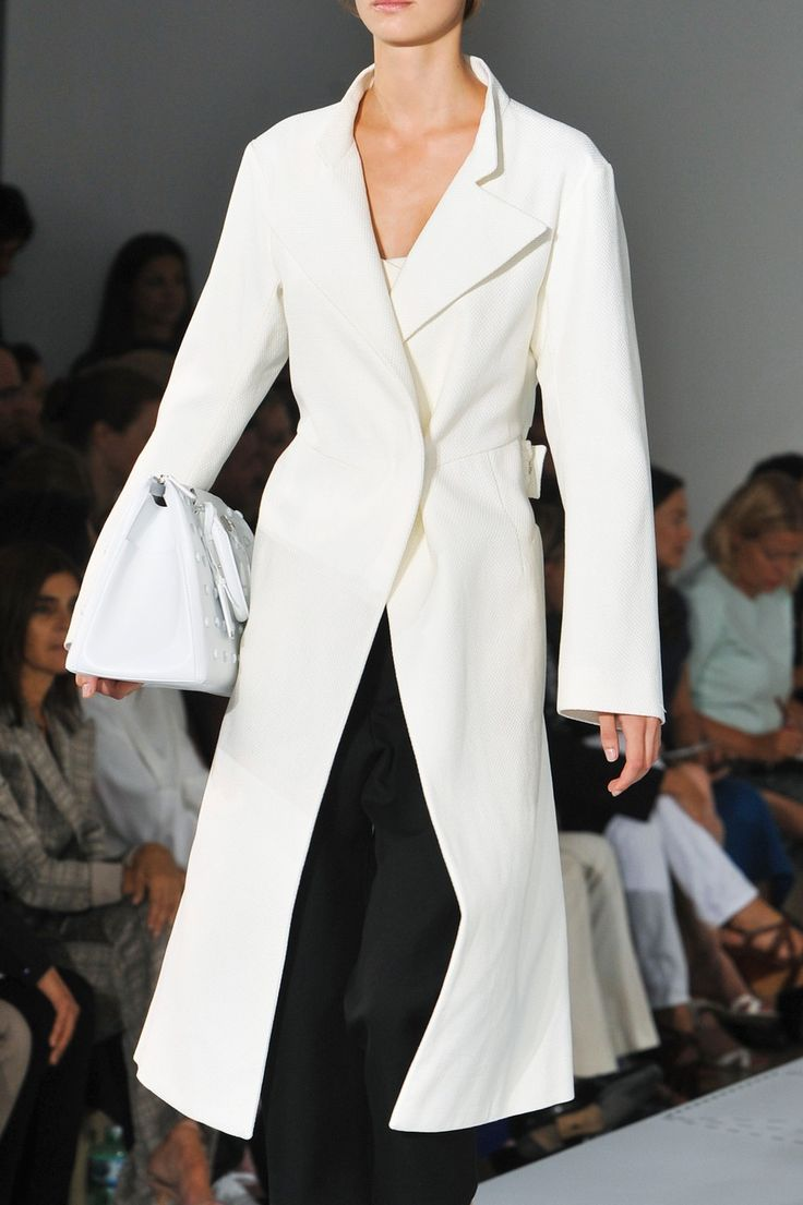 "Jil Sander SS 14.  ..............My style statement: ""On matters of style, swim with the current, on matters of principle, stand like a rock."" ― Thomas Jefferson ...."
