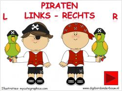 Digibordles piraten links - rechts  op digibordonderbouw.nl http://digibordonderbouw.nl/index.php/themas/piraten/piraten/viewcategory/366