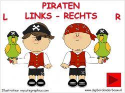 Digibordles piraten links - rechts op digibordonderbouw.nl…