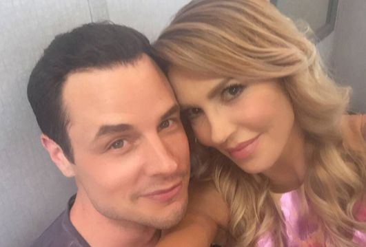 Brandi Glanville and Dean Sheremet are throwing major shade on their respective exes, Eddie Cibrian