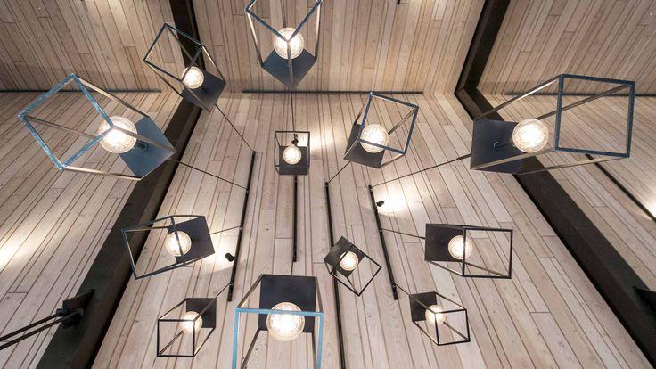 RAVN Arkitektur - Lampedetalje